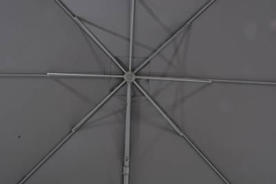 Zweefparasol Horizon 300x300cm antraciet