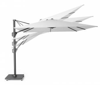Zweefparasol Challenger T¹ ø350cm light grey