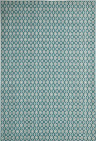 Buitenkleed Eclips Karpet 200x290cm Turquoise