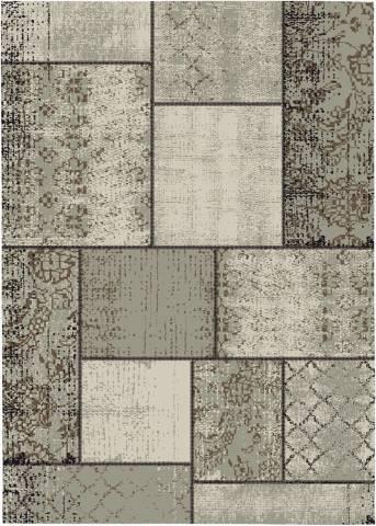 Buitenkleed Blocko Karpet 200x290cm Donker Zand