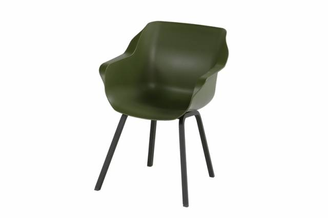 Diningstoel Sophie Element Armchair Moss Groen
