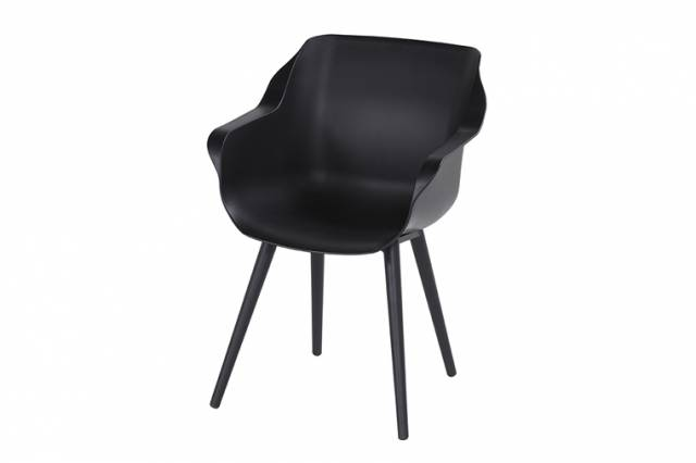 Diningstoel Sophie Studio Armchair Carbon Black