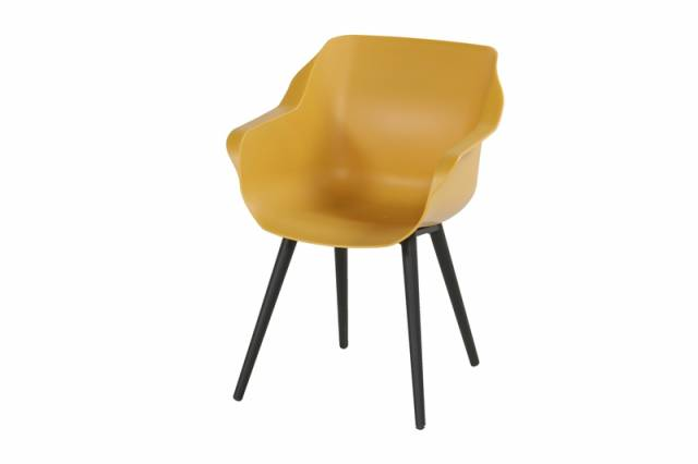 Diningstoel Sophie Studio Armchair Curry Yellow