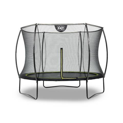 Silhouette trampoline ø244cm - zwart