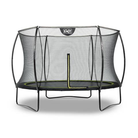 Silhouette trampoline ø305cm - zwart