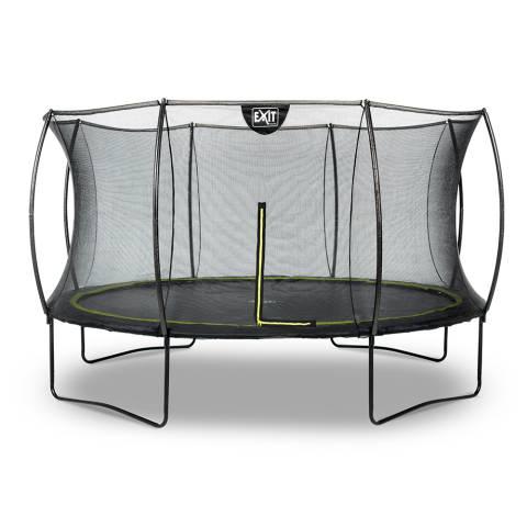 Silhouette trampoline ø366cm - zwart