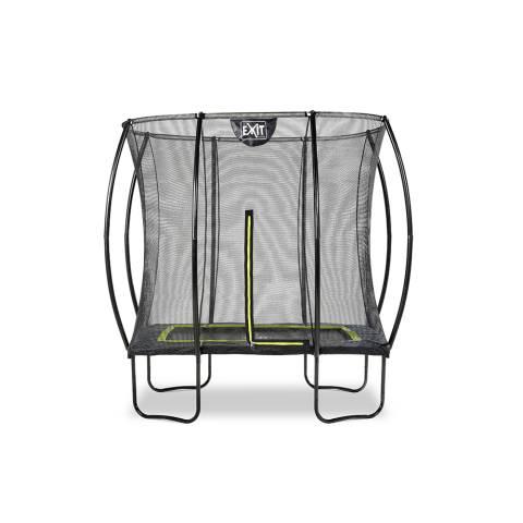 Silhouette trampoline 153x214cm - zwart
