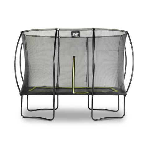 Silhouette trampoline 214x305cm - zwart