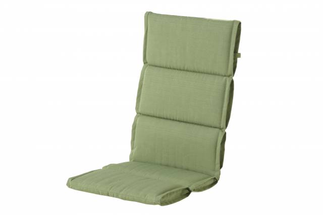 Hoge rug kussen Casual green sling