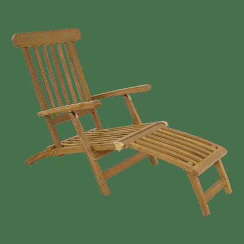 Deckchair Verstelbaar Teak