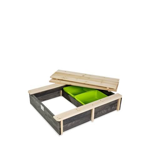 Aksent houten zandbak 94x77cm