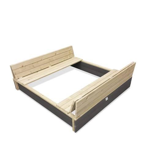 Aksent houten zandbak 136x132cm