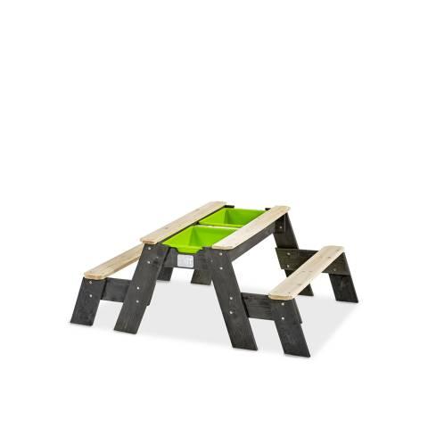 Aksent zand-, water- en picknicktafel (2 bankjes)