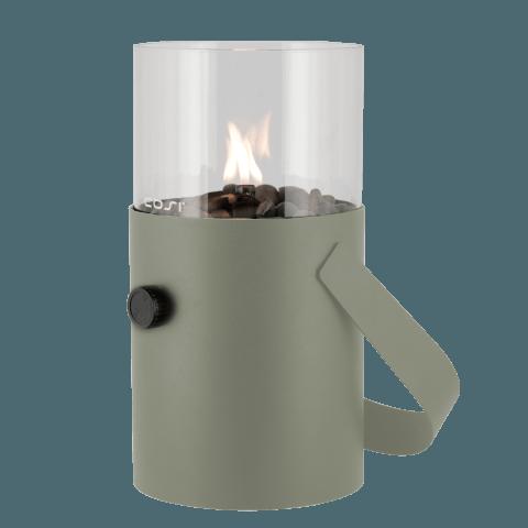 Gas lantaarn Cosiscoop original olive