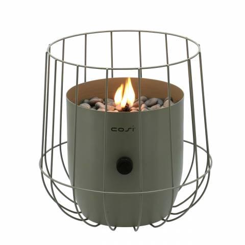 Gas lantaarn Cosiscoop basket olive