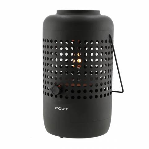 Gas lantaarn Cosiscoop drop black