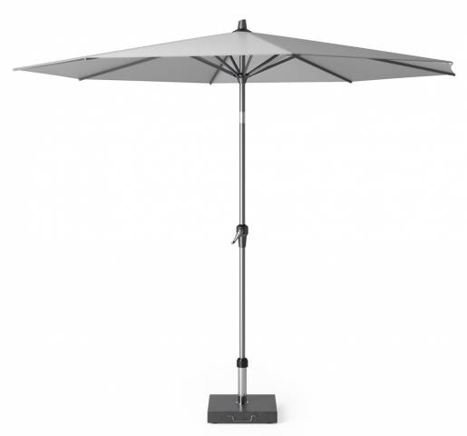 Riva parasol 300cm light grey