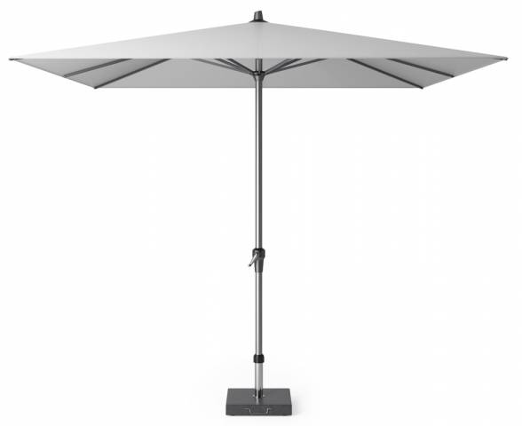Riva parasol 275x275cm light grey