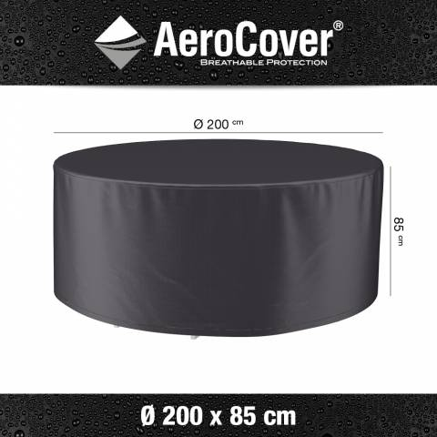 Aerocover afdekhoes tuinset Ø200cm