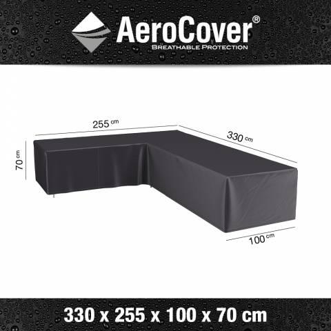 Aerocover afdekhoes loungehoek 255x330x100x70