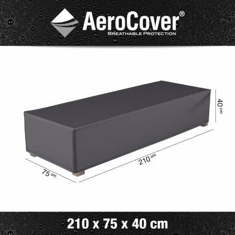 Aerocover afdekhoes ligbed 210x75x40cm