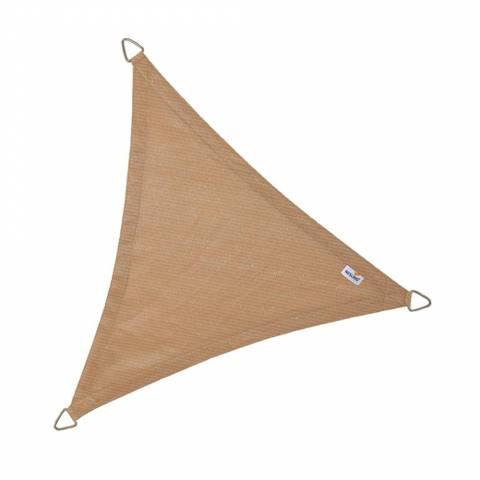 Schaduwdoek Coolfit driehoek 500x500x500cm Zand