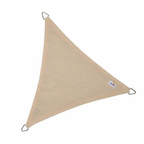 Schaduwdoek Coolfit driehoek 500x500x500cm Gebroken Wit