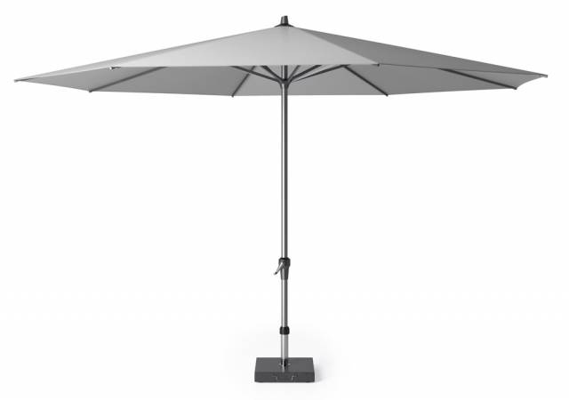 Riva parasol 400cm light grey