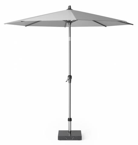Riva parasol 250cm light grey