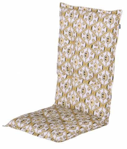 Hoge rug kussen Limay yellow