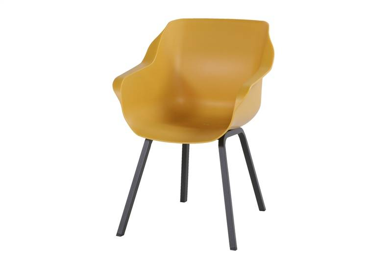 Diningstoel Sophie Element Armchair Curry Yellow